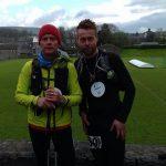 Dan Page and Richard Hind at the Fellsman