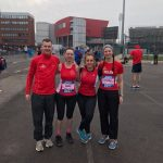 Clowne Road Runners at Manchester Marathon