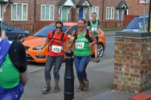 Andrea Walker at the Newcastle Way Trail Marathon
