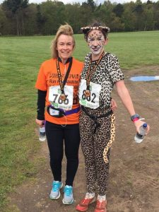 Gemma Scougal at Run for Wildlife 5k