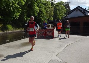 John Proffitt at Llangollen Trail 10k