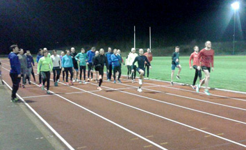 Clowne Road Runners Training