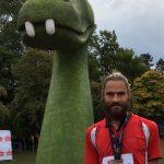 Lewis Banton at Loch Ness Marathon