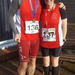 Michael & Sandra Lees ran the Coalville 10k