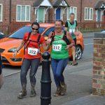 Andrea Walker at the Newcastle Way Trail Marathon