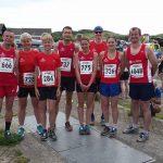 Clowne Road Runners at Northumberland Coastal Run